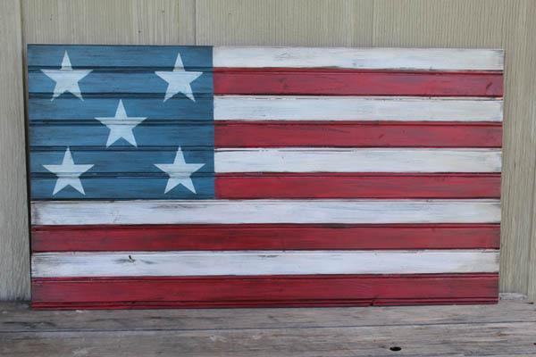 Rustic Flag new