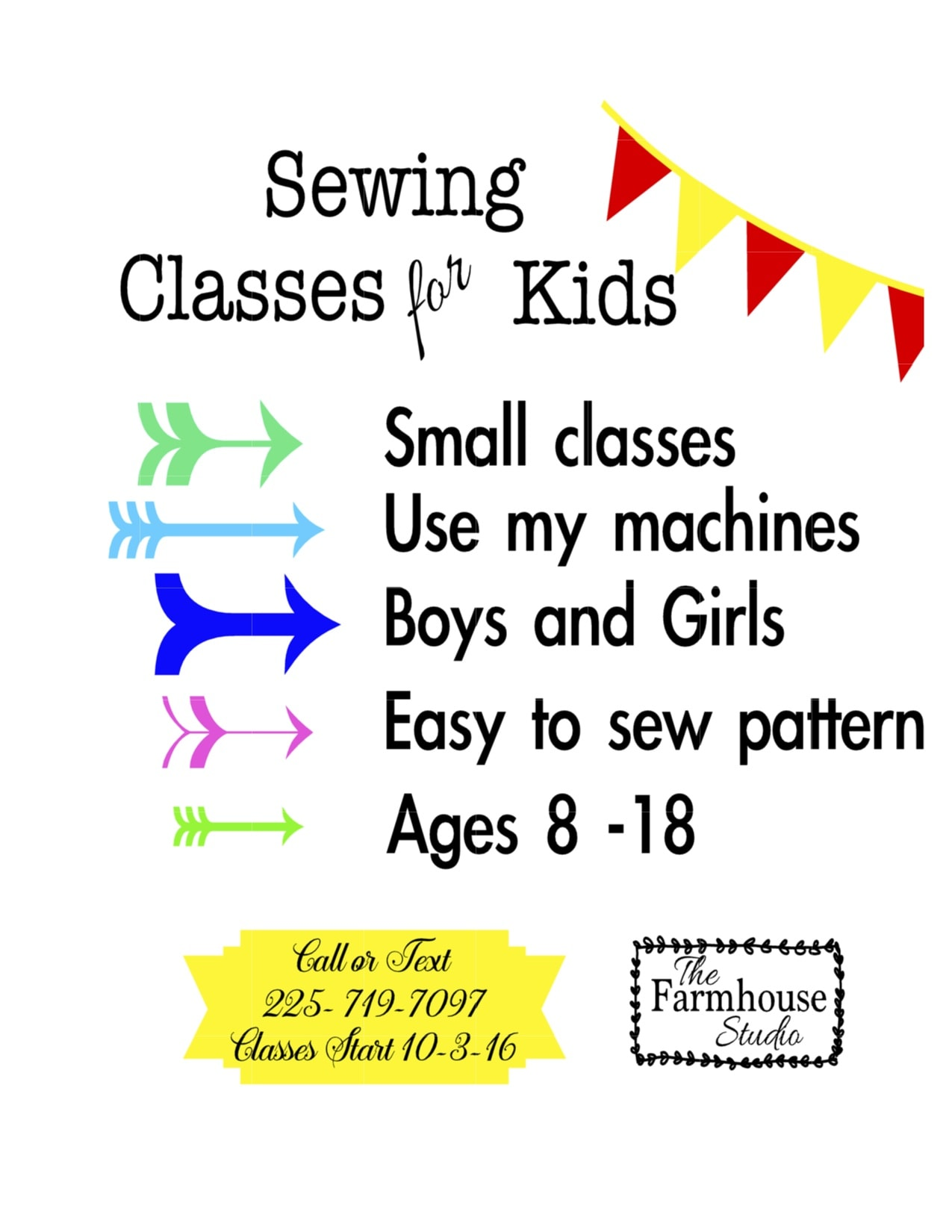 sewing class ad: Untitled