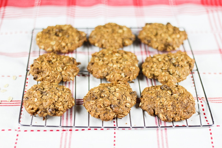 Healthy Oatmeal Chocolate chip colokies