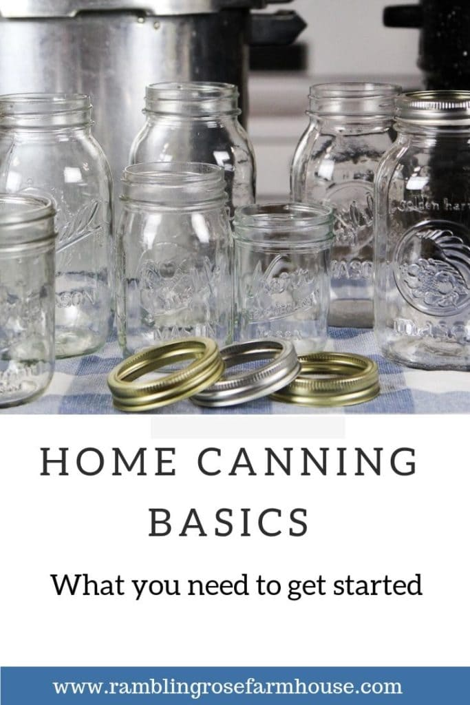 home canning basics |what you need to get started
