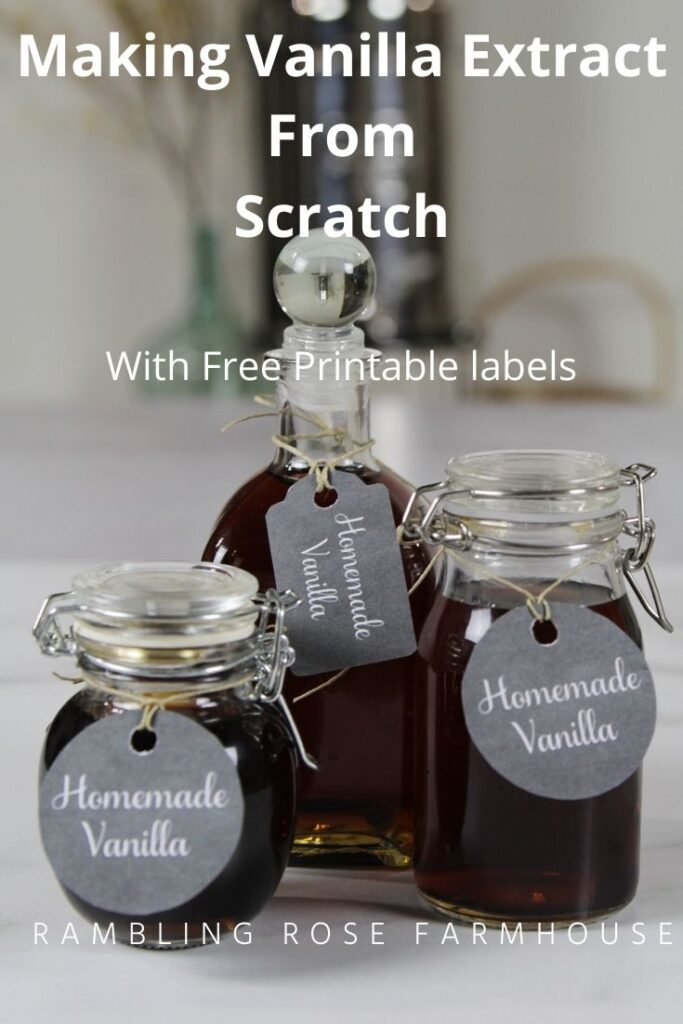 Homemade Vanilla From Scratch graphic