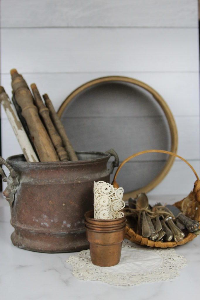 various vintage items