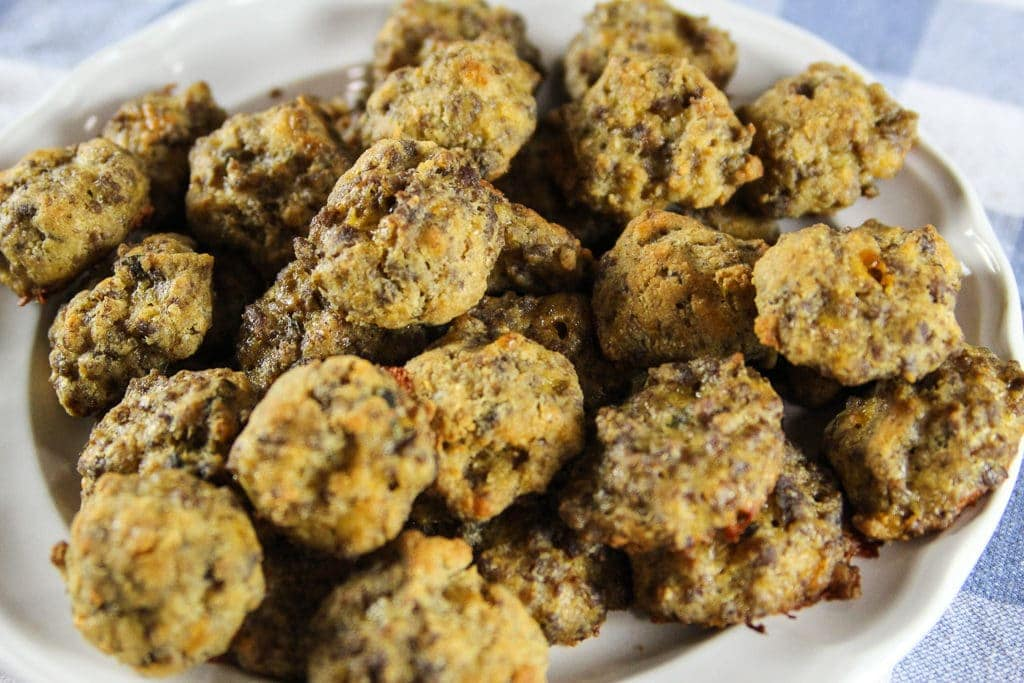 Trim Healthy Mama Low Carb Sausage Balls