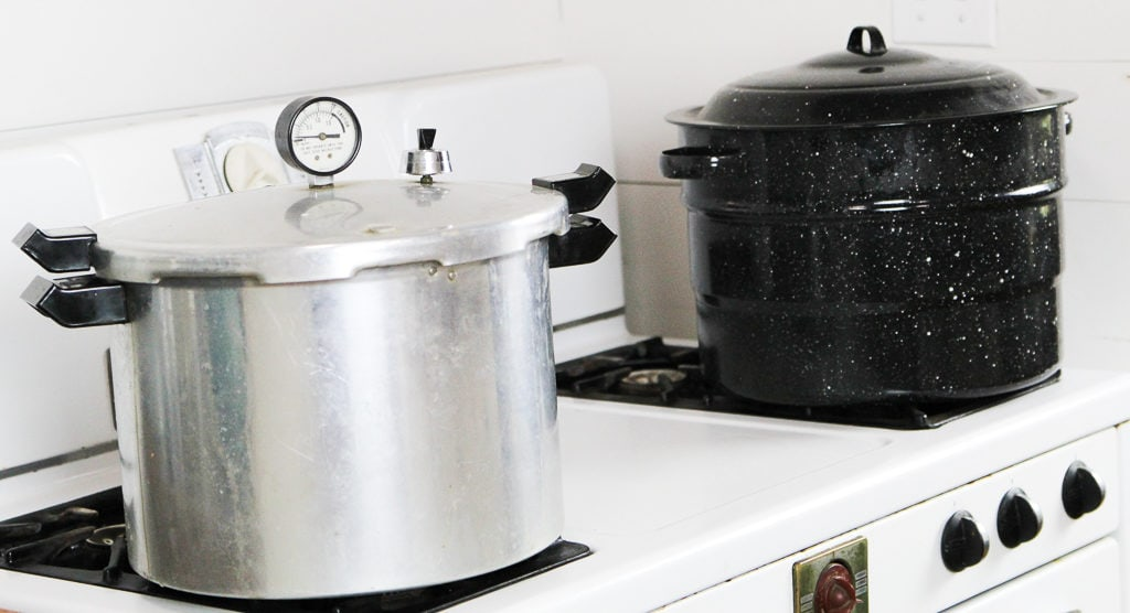 pressure canner/ water bath canner