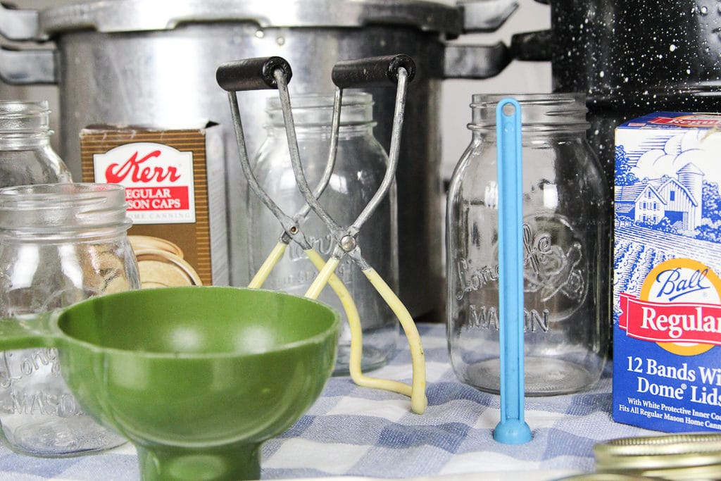 home food canning tools